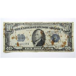 1934D $10 SILVER CERTIFICATE