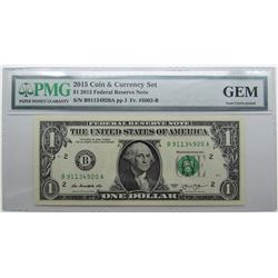 2015 COIN/CURRENCY $1 2013 PMG GEM