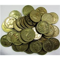 LOT of UNSEARCHED ENGLISH 1 POUND