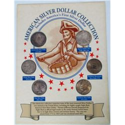 AMERICAN SILVER DOLLAR COLLECTION
