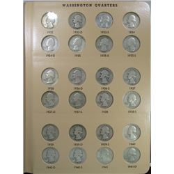 WASHINGTON QUARTER SET 1932 thru 1998 in DANSCO