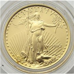 1993 $10 AMERICAN GOLD EAGLE COIN