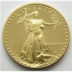 1987 1 Ounce Gold Eagle $50 Fifty Dollar