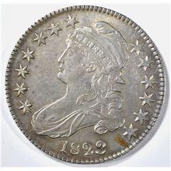 1823 BROKEN 3 BUST HALF DOLLAR BU