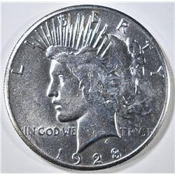1928 PEACE DOLLAR  CH BU