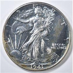 1941 WALKING LIBERTY HALF DOLLAR  GEM PROOF