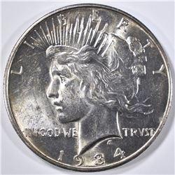1934-D PEACE DOLLAR  CH BU