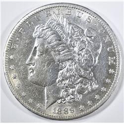 1889-S MORGAN DOLLAR   BU MARK REV