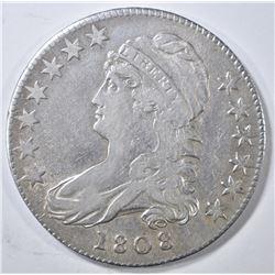 1808 BUST HALF DOLLAR  XF