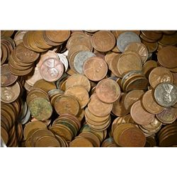 1114 MIXED DATE WHEAT CENTS