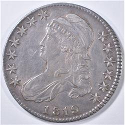 1819 BUST HALF DOLLAR XF/AU