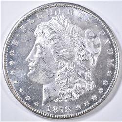 1878-S MORGAN DOLLAR CH BU