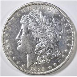 1895-O MORGAN DOLLAR, AU/BU