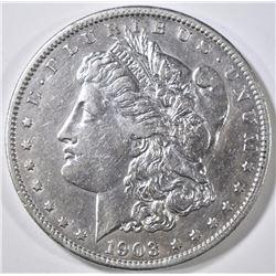 1903-S MORGAN DOLLAR, AU