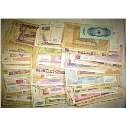200+ RANDOMLY SELECTED FOREIGN CURRENCY PIECES