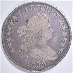 1799 BUST DOLLAR VG/F