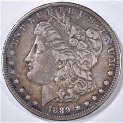 1889-CC MORGAN DOLLAR XF/AU