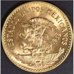 1959 MEXICO 20 PESO GOLD