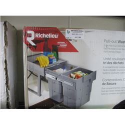 RICHELIEU PULL OUT WASTE BINS