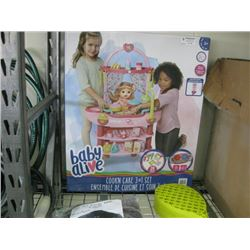 BABY ALIVE COOK IN CARE 3 IN 1 SET