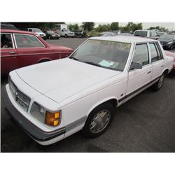 1989 Dodge Aries