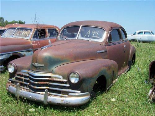 1947 Chevrolet 2dr Coupe Fleetmaster 5 Passenge