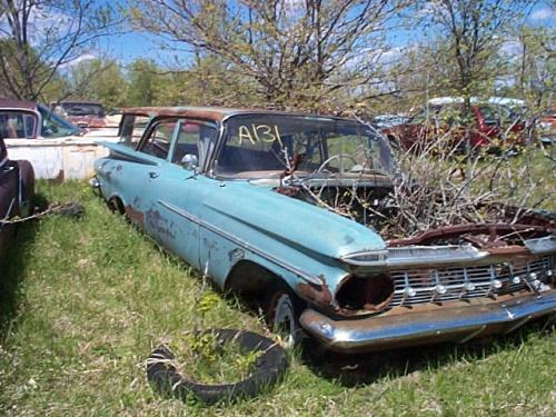 1959 Chevrolet Brookwood Stationwagon