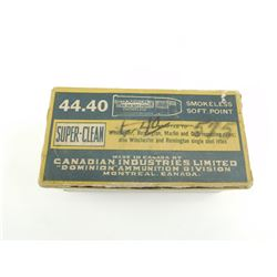 DOMINION 44-40 SUPER CLEAN AMMO
