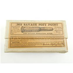 303 SAVAGE SOFT POINT AMMO