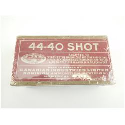DOMINION 44-40 SHOT AMMO