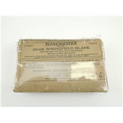 WINCHESTER -30-06 SPRINGFIELD BLANKS, SEALED PACKAGE