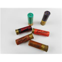 12 GAUGE PAPER ASSORTED SHOTSHELLS