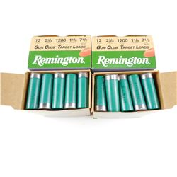 "REMINGTON 12 GAUGE 2 3/4"" SHOTSHELLS"