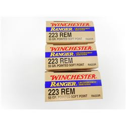 WINCHESTER RANGER 223 REM AMMO