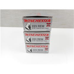 WINCHESTER 223 REM AMMO