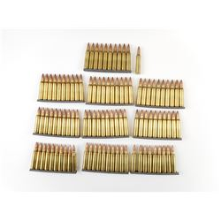223 REM AMMO ON STRIPPER CLIPS