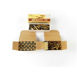 22 SHORT, AND 22 LONG RIFLE AMMO