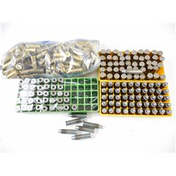 357 MAG RELOADED AMMO, BRASS CASES, 10 MM AUTO BRASS
