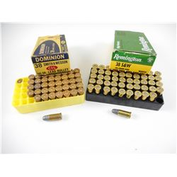 38 SMITH & WESSON ASSORTED AMMO