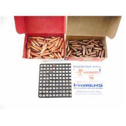 PRIMERS NO 8 1/2-120, 6MM CAL BULLETS