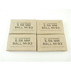 5.56MM BALL MI93 AMMO
