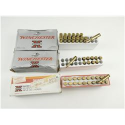 222 REM AND 576 WIN ASSORTED AMMO