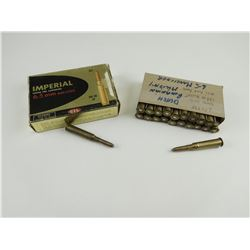 6.5MM ASSORTED AMMO, RELOADED AMMOM