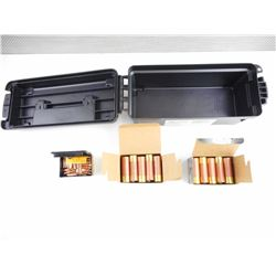 "HEVI-SHOT 12 GAUGE, 3"" SHOTSHELLS, SPEER 270 BULLETS, AMMO BOX"