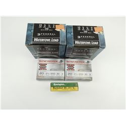 12 GAUGE WATERFOWL LOAD, 20 GAUGE BUCKSHOT SHOTSHELLS