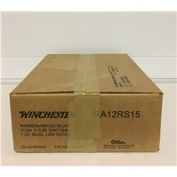 "WINCHESTER 12 GAUGE  2 3/4"" SLUGS"