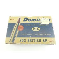 303 BRITISH SP AMMO