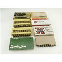 308 WIN ASSORTED AMMO, INCLUDING RELOADED AMMO