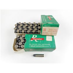 REMINGTON 38 SPECIAL POLICE SERVICE AMMO