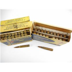 30-06 ASSORTED AMMO, RELOADED AMMO